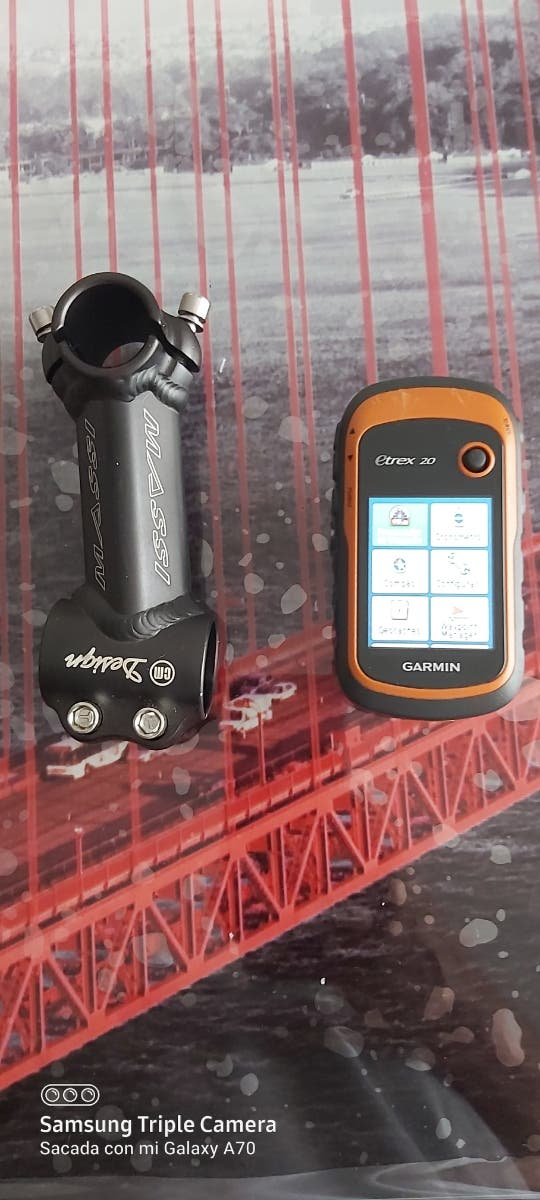 GPS garmin y potencia