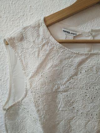 Blusa Blanco T. S / M