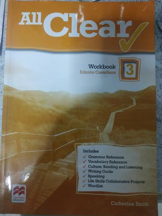 Libro de inglés 3 ESO.