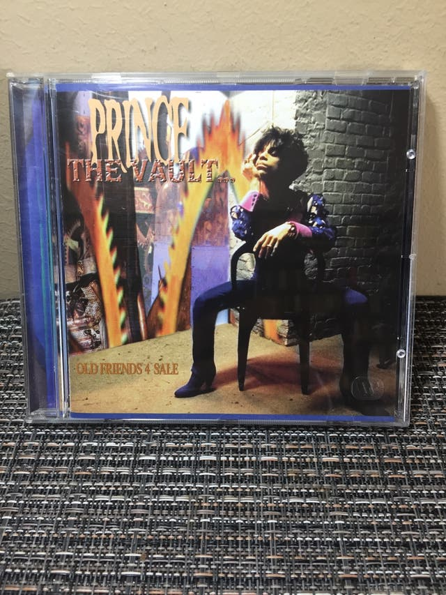 """Prince """"The vault... old friends 4 sale"""""""