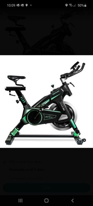 Bicicleta indoor profesional. Spinning.