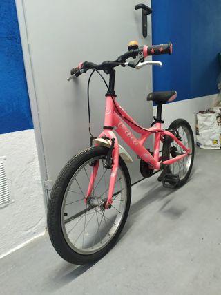 bicicleta niña niño
