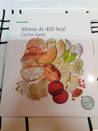 Libro Thermomix menos de 400ka. Cocina ligera