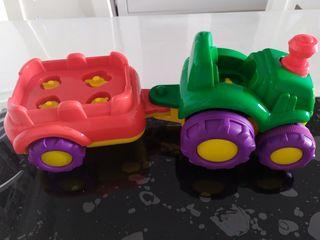tractor con sonido