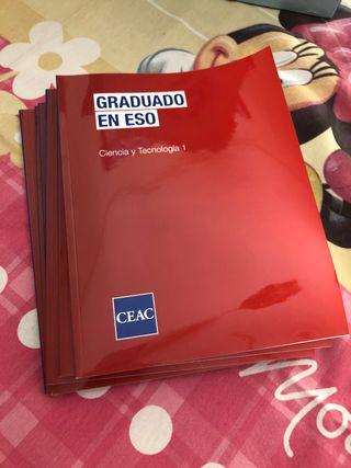 Libros de curso de graduado de ESO completo