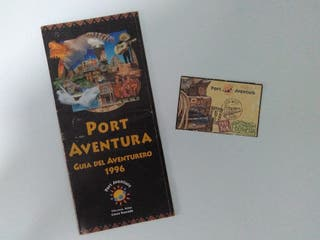 Entrada Port Aventura 1996