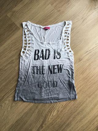 Camiseta chica rockera