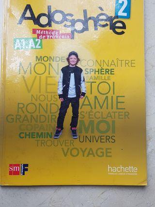Libro de francés. Adosphere 2 eso