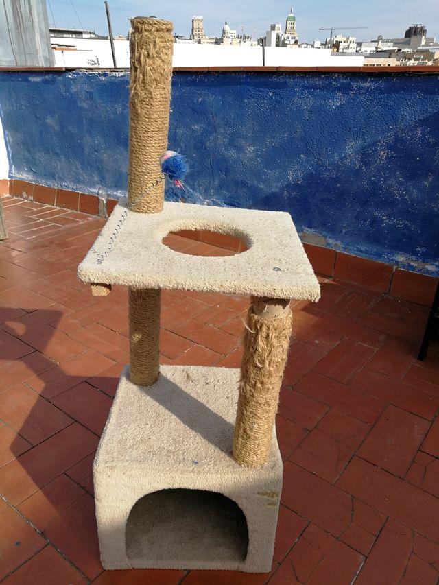 Juego/gimnasio para gatos