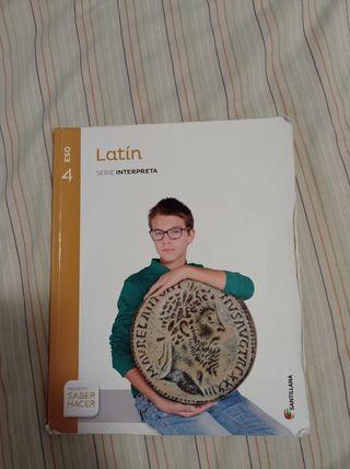 Libro latín 4 ESO