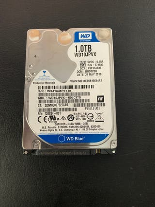 Disco duro 2.5 de 1Tb