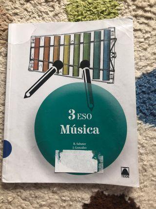Libro de música 3 de la ESO