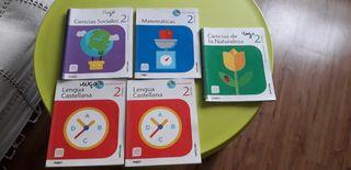 regalo libros escritos de 2o primaria santillana