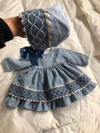 Vestido y capota