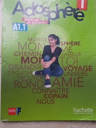 Libro de francés. Adosphere 1 Eso