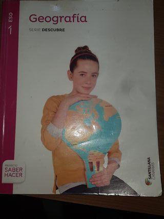 Libro de Geografía +atlas 1 ESO