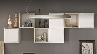 Composición estantería EKET Ikea