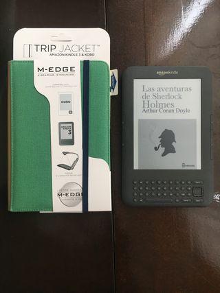 Ebook Kindle keyboard 3g + wifi + funda