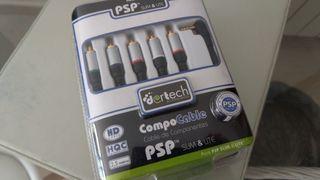 psp cable componentes para tv