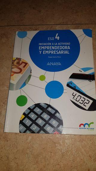 libro Empresariales 4° Eso