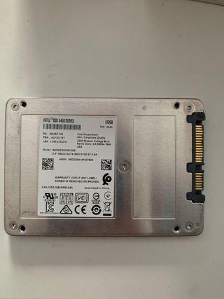 Disco duro SSD 500Gb Intel