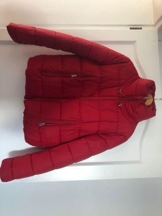 Chaqueta bomber roja