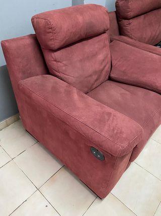 Sillón y Sofa 3 plazas