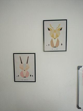 cuadros para decorar habitación Lote