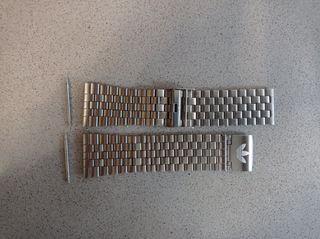 Correa reloj acero inoxidable 24mm