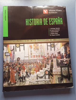 Libro de Hº de España 2º Bachillerato Vicens Vives