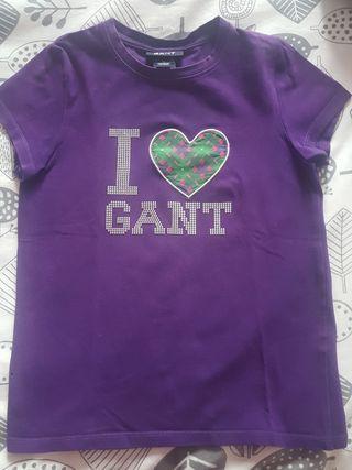 Camiseta Gant T 7-8años