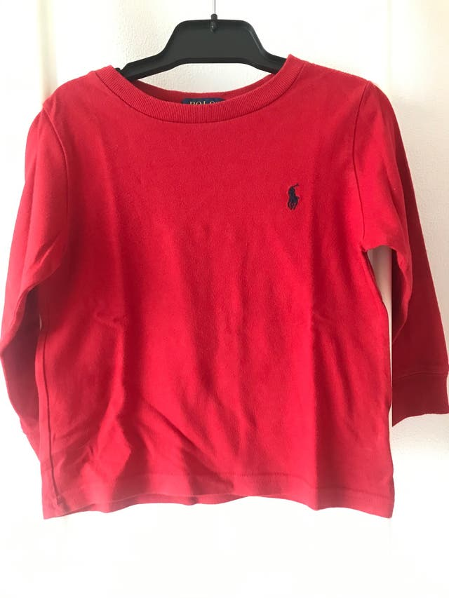Camiseta roja niño T.2 Polo Ralph Lauren