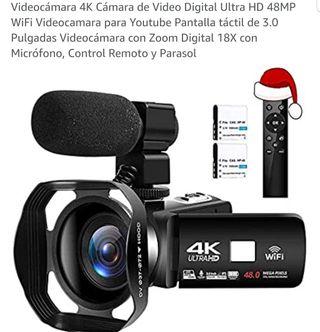Vídeo cámara 4K