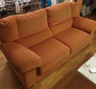 Sillón 3 plazas más sofá individual reclinable