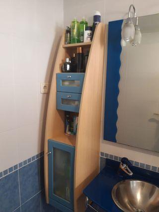 Conjunto completo muebles baño