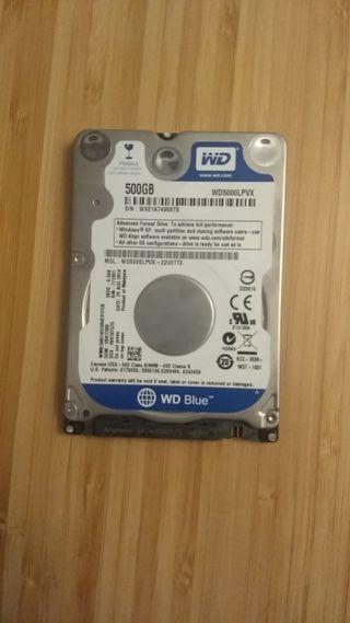 Disco duro 500GB (480GB) Western Digital WD