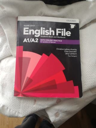 english file A1/A2 cuarta edición
