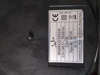 placa de inducción Jata para reparar
