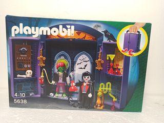 cofre casa encantada 5638 Halloween Playmobil