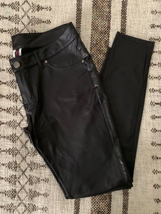 Legging polipiel negros CALZEDONIA