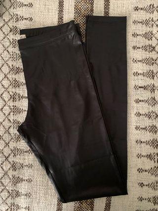 Legging negros metalizados Pull & Bear