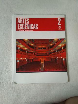libro artes escénicas 2. bachillerato
