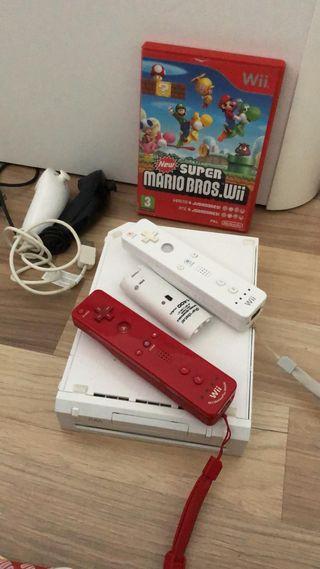 Pack de Wii+ videojuego+ 2 mandos