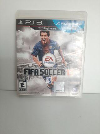 FIFA Soccer 13 juego para PlayStation 3