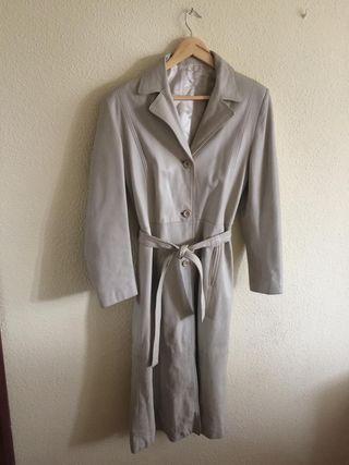 chaqueta larga piel 100%