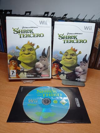 Wii Shrek tercero