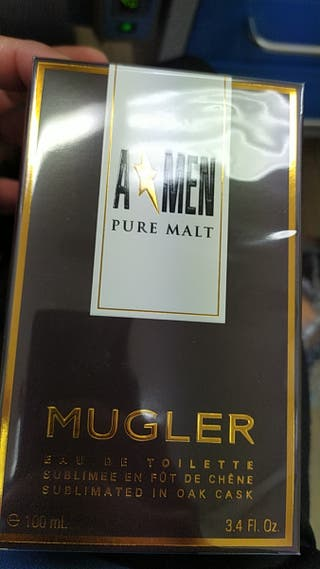 perfume mugler pure malt 100ml
