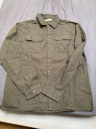 Camisa-chaqueta tejana Mango Kids