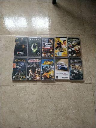 juegos y películas psp