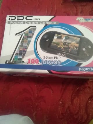 caja de pocket dream console